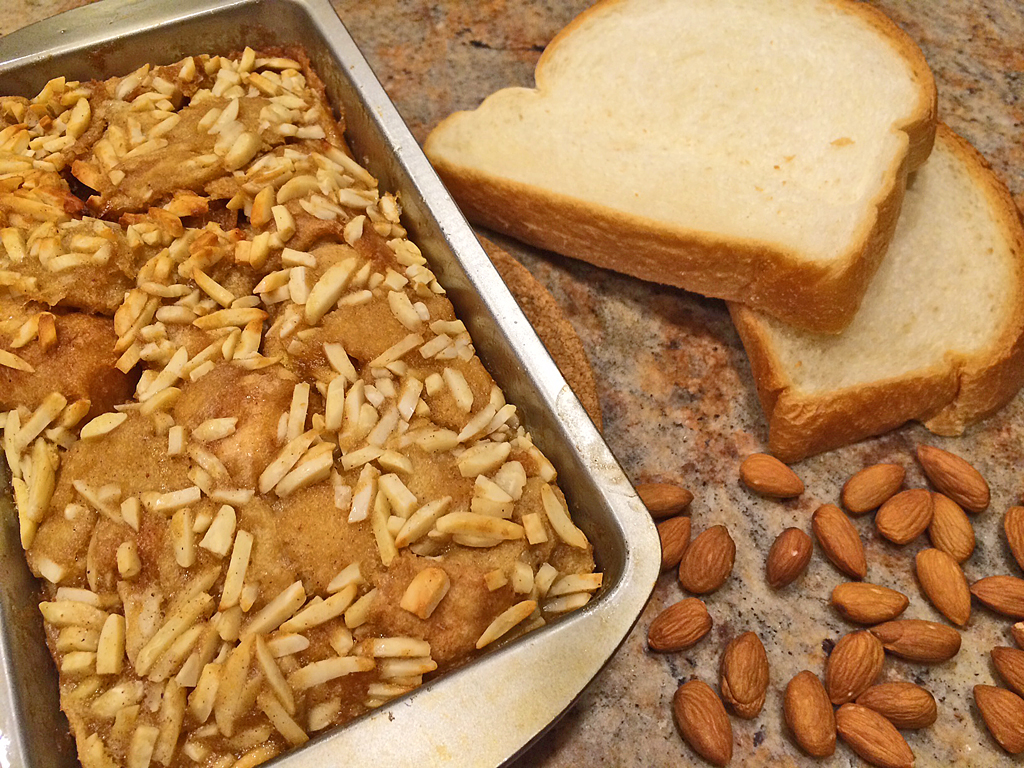 Easy French Toast Bake with Almonds - Souperbly Delicious ...